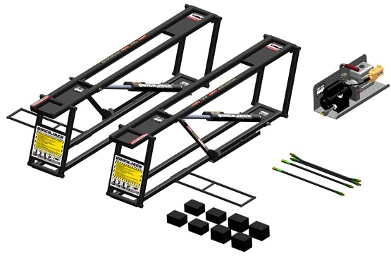 Portable car lift ramps 14
