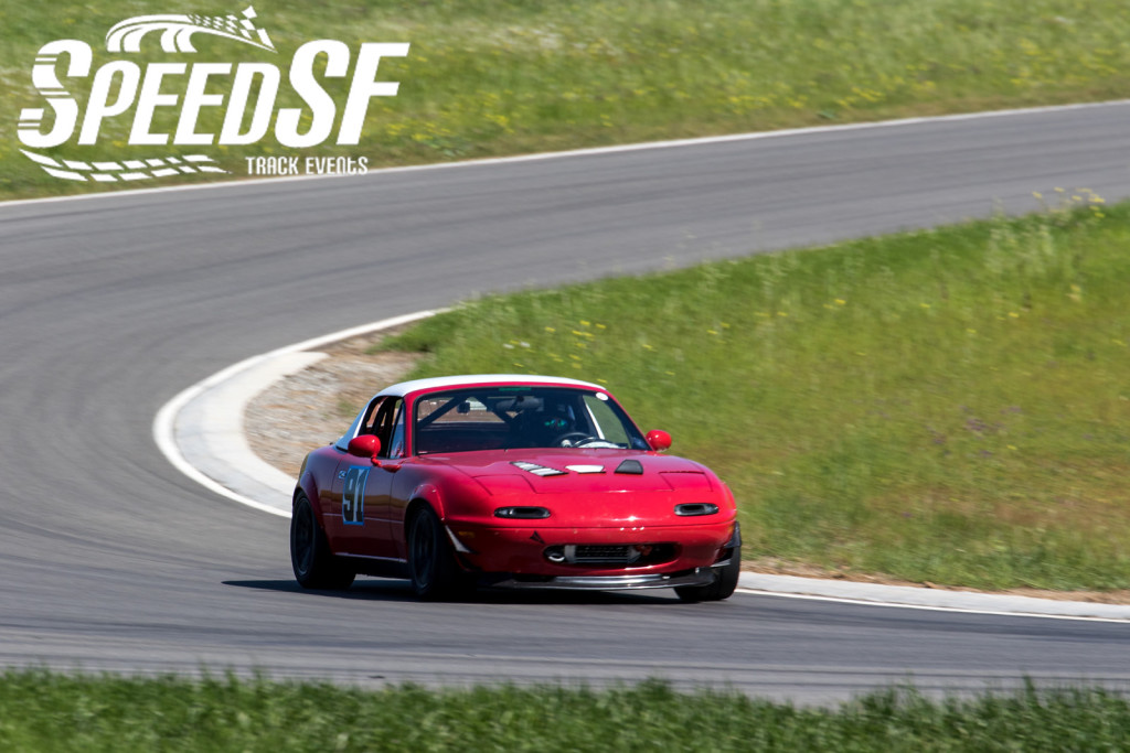 Kotz's Mazda Miata showed noticeable improvements from his last outing at THill West