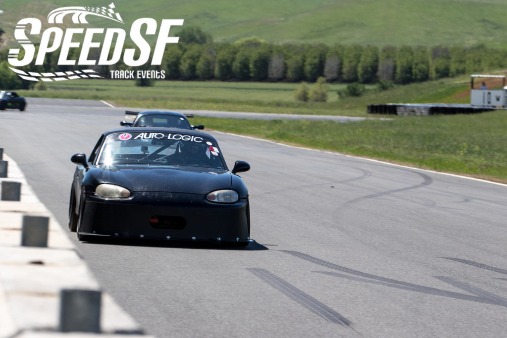 Smith's lap times in his Miata were good for the second fastest lap of the Speed SF Challenge session