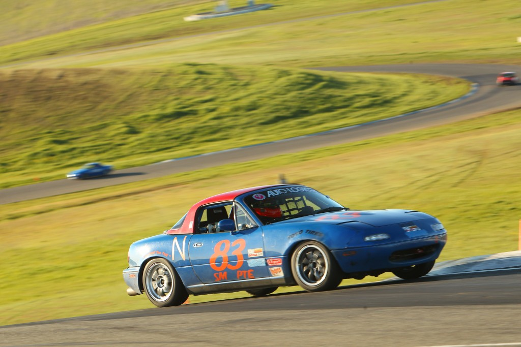 The 595RS-RR tires held up well enough in the first race that no positions or time were lost