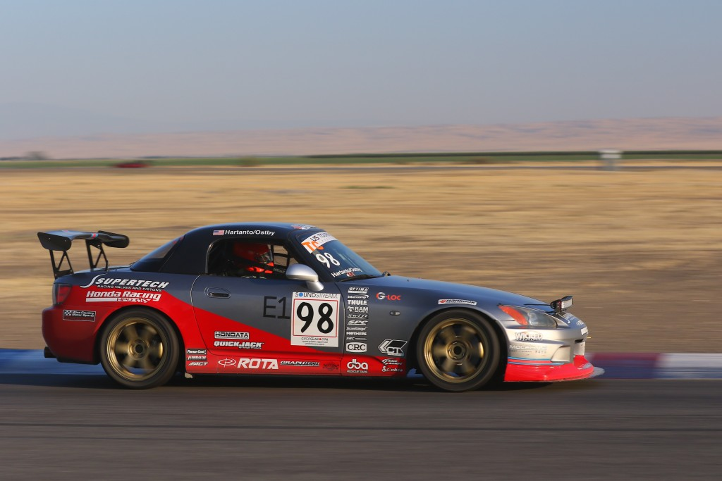 Ostby began to pick up the pace and the consistency as the sun got lower and he ran deeper into his 30-lap stint