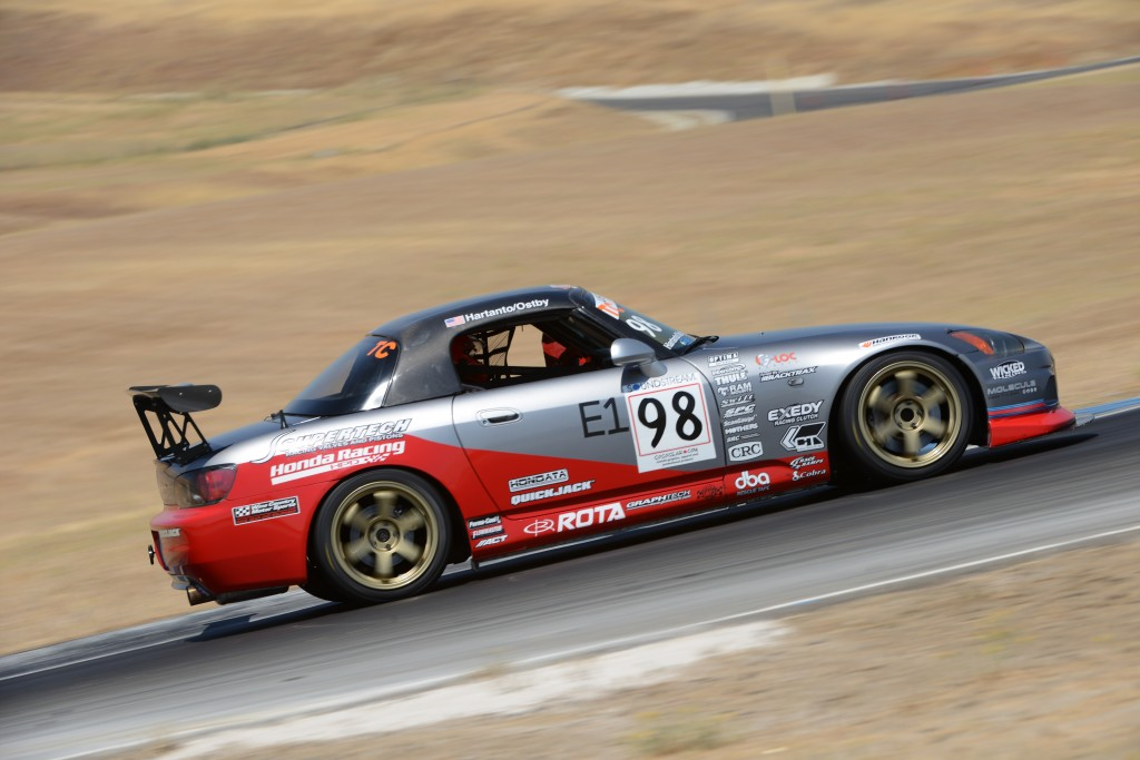 Ostby successfully placed Prima Racing's S2000 at the top of the qualifying timesheets, but with muted lap times due to series of yellow flags, it was a foregone conclusion that qualifying times on Sunday would be faster