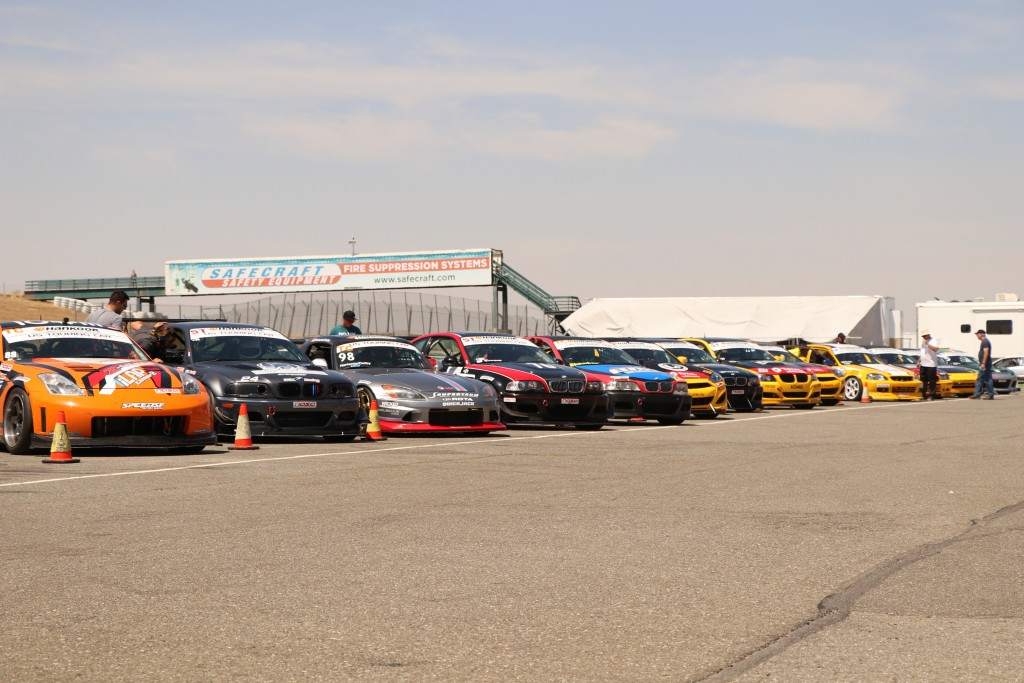 The USTCC grid shapes up nicely before the race