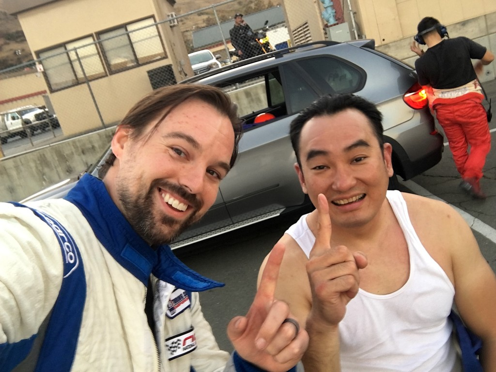 Hartanto and Ostby celebrate their S2000's first endurance racing victory