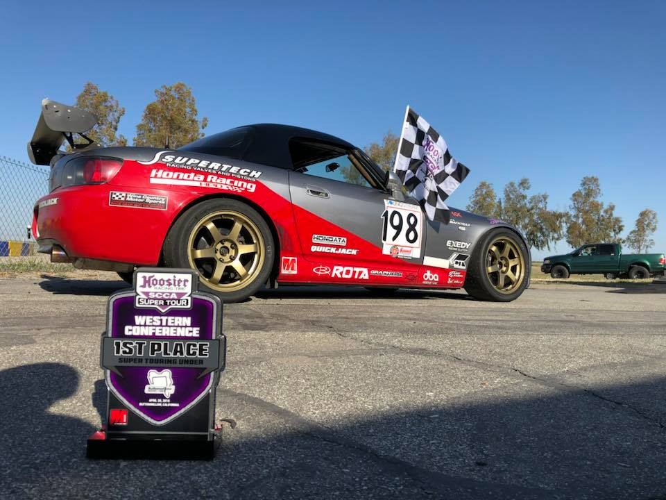 Prima Racing leaves Buttonwillow with hardware and another valuable qualifying victory towards the Runoffs